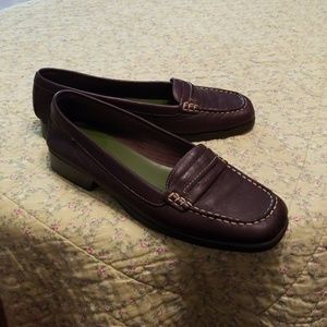 Brown leather A2 loafers size 11B